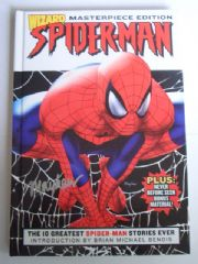 Wizard Deluxe Best of Spider-man Hardcover Signed Mayhew
